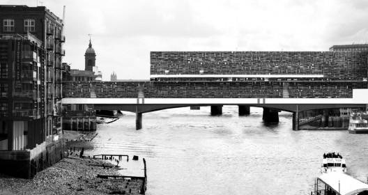 Bridge From Recycled Grids / Aristide Antonas