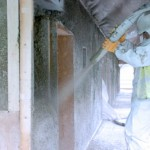 hemp spray 150x150 Carbon Negative Hemp Walls are 7x Stronger than Concrete