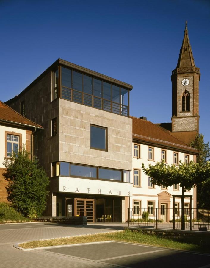 Ecker Architekten – Seckach Town Hall
