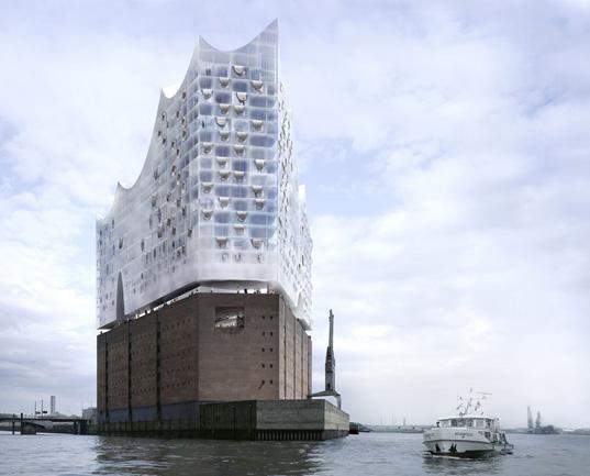 Herzog + de Meuron's Hamburg Philharmonic Concert Hall Breaks Ground