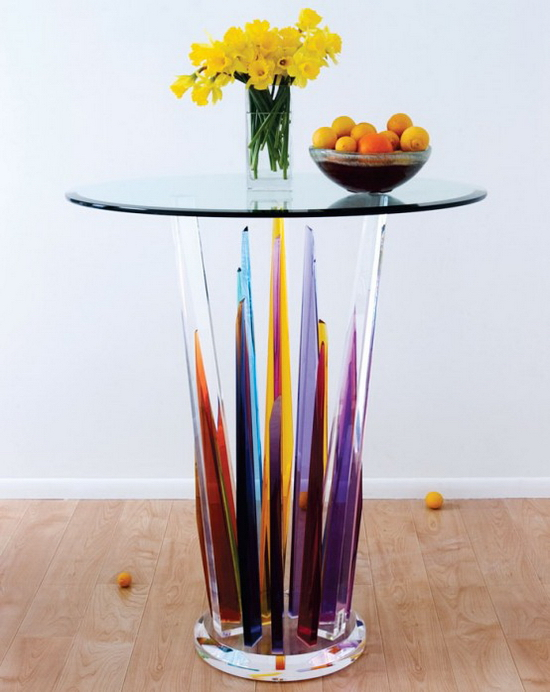 Glass Bar Tables – Beautiful Design by H.studio
