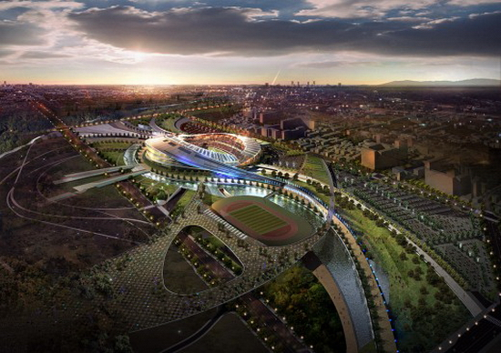 Populous Design – 2014 Incheon Asian Games Stadium