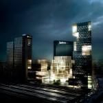 """3 """"Crystal Clear"""" Landmark Towers for Oslo Skyline"""