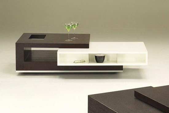 Trio Contemporary Coffee Table by Rick Lee