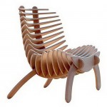 """Fish Bone"" SK Chair by Nicolas Marzouanlian"