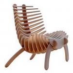 """Fish Bone"" SK Chair by Nicolas Marzouanlian"