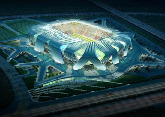 Dalian Football Stadium by Ben van Berkel – wonder stadium