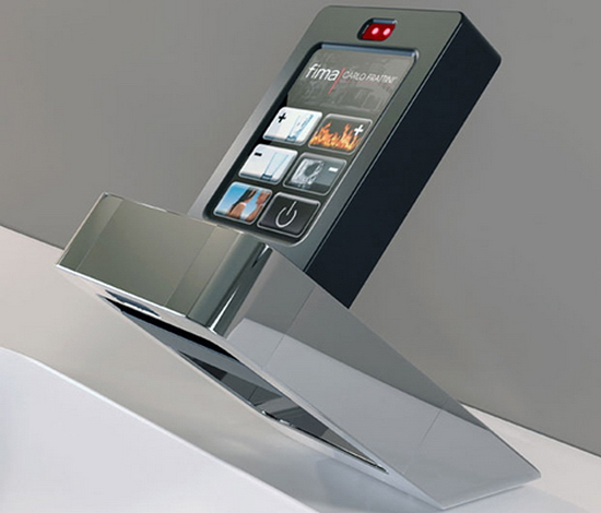 Touch Screen Faucet by Fima