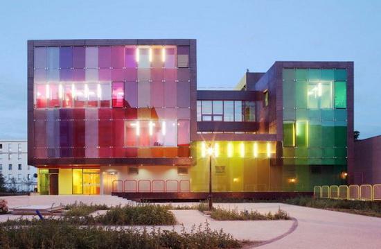 KOZ Architectes – Sports and Leisure Center in Saint-Cloud