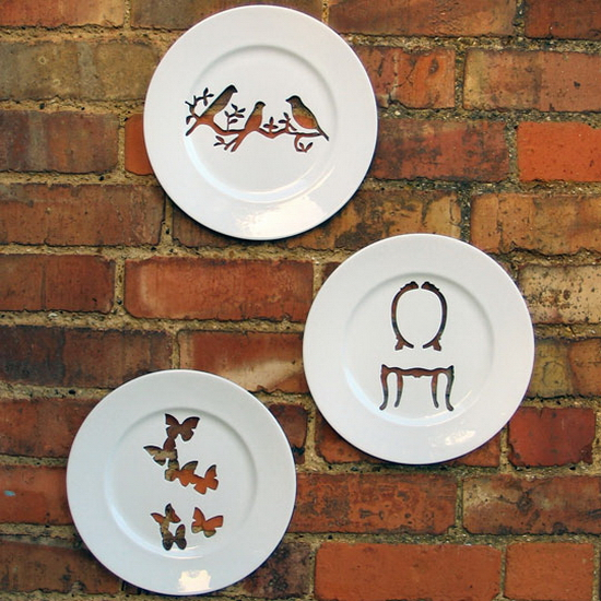 Andrew Tanner and The Silhouette Wall Plates