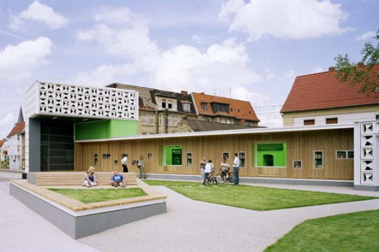 KARO Architekten – Open Air Library
