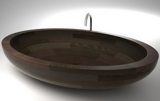 Best Wood Bath Tubs, Wash Basins, and Showers by UWD