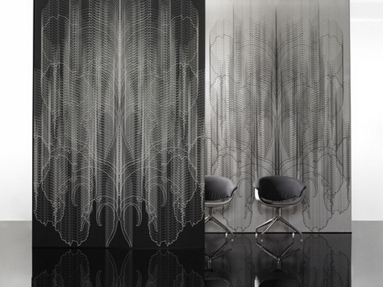 Iris Maschek | Black and White Wallpapers with Crazy Patterns