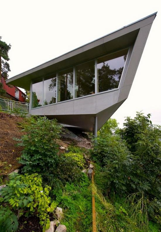 The Edge House by Jarmund/Vigsnæs AS Architects MNAL