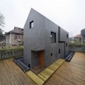 Slit House | Minimalist House Design Framed by Concrete