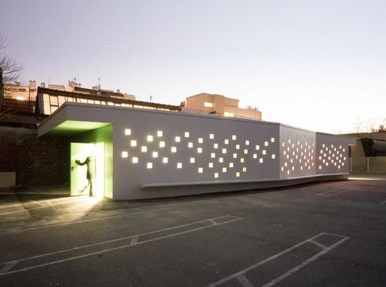 Chartier/Dalix Architectes | Diderot d'Alembert School Infirmary
