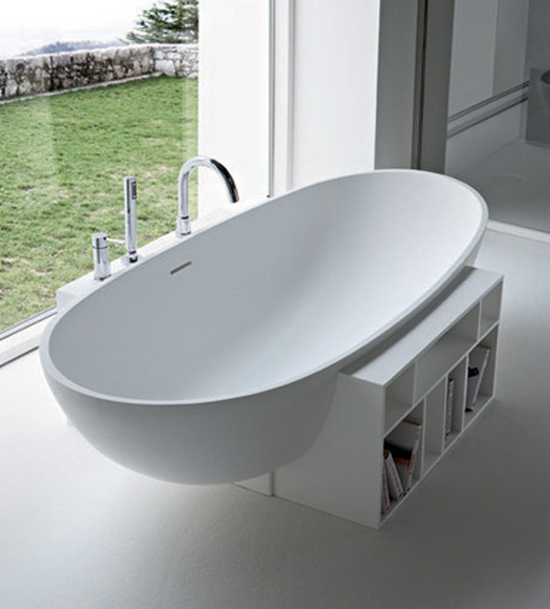 Egg Tub by Rexa Design 10 Modern Bathtub Designs For 2010