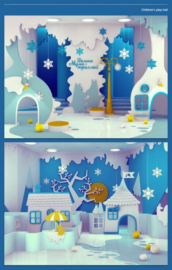 Kids Bedroom design Snow white Ludic Interior Design Project | Maria Yasko