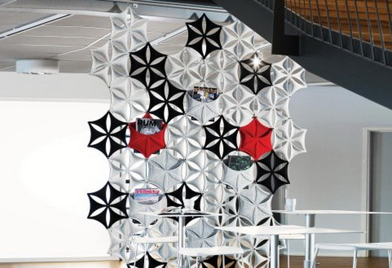 Schematic Wall Design – Lammhults Airflake