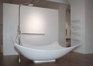 Leggera Bathtub by Gilda Borgnini 300x214 Leggera Bathtub by Gilda Borgnini