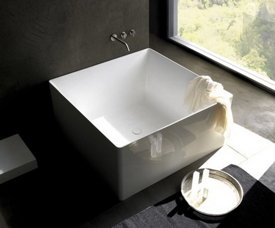 Rectangular Bathtub 10 Modern Bathtub Designs For 2010