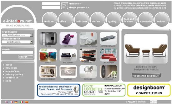 e interior Modelos en 3D gratuitos de parte de fabricante que