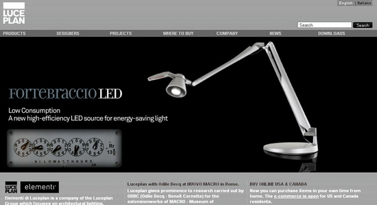 Luceplan Modelos en 3D gratuitos de parte de fabricante que