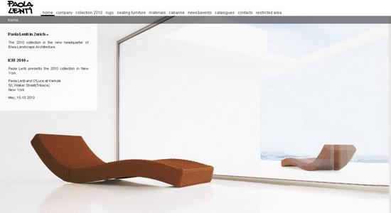 Paola Lenti GRATIS Modelos 3D de parte de fabricante que