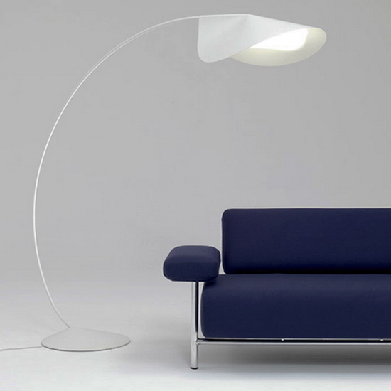 elegant floor lamps circle de padova 4 De Padova | Circle Lamp