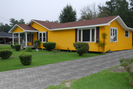 Vinyl Siding modified
