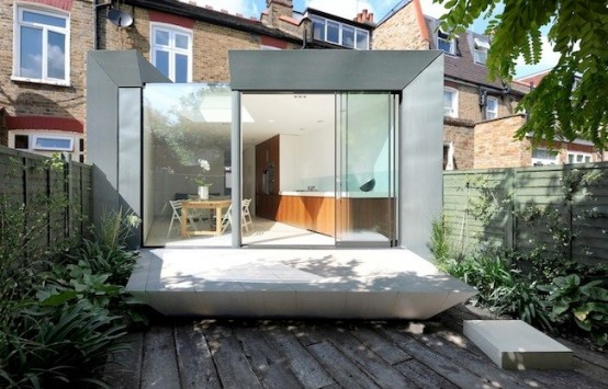 Modern Extension of Edwardian Terrace House in London