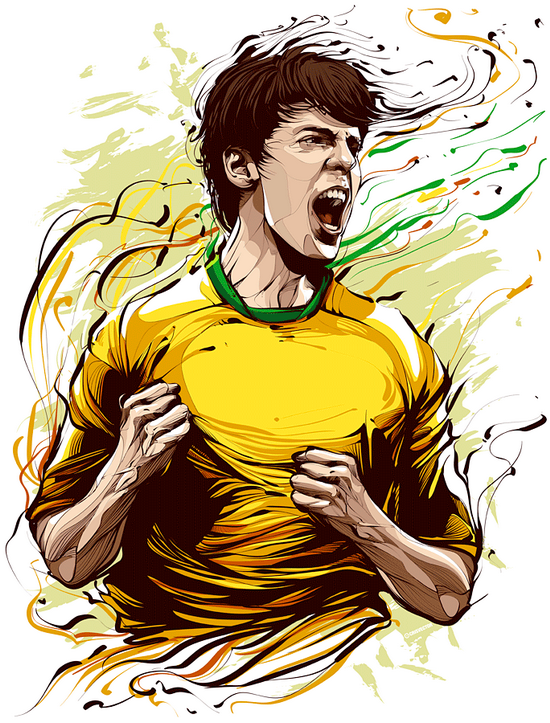 kaka full Cristiano Siqueira | Astonishing Illustrations You Will Never Forget