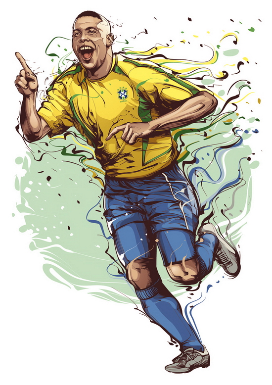 ronaldo p Cristiano Siqueira | Astonishing Illustrations You Will Never Forget
