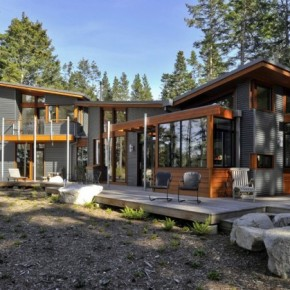 David Vandervort Architects | Lopez Island Residence