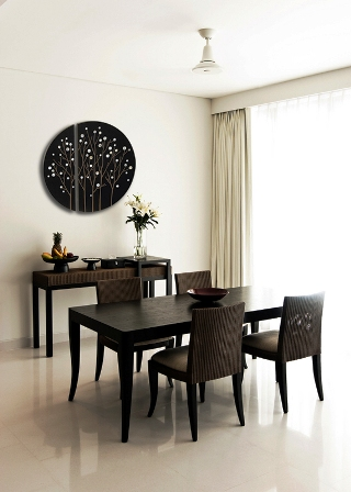 Copy of Mario Sleek Decorating with Black and White