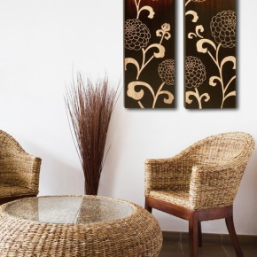 Warm Up Your Home with Wood Art