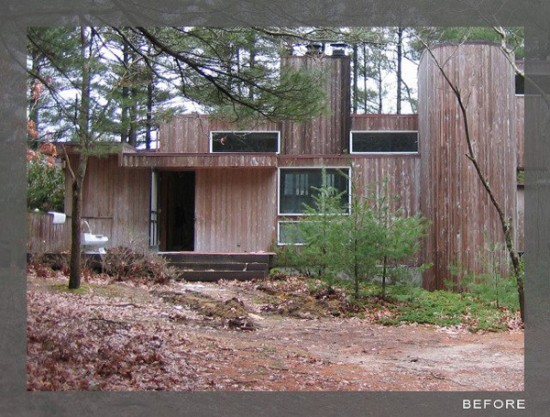 Kettle Hole House 10 550x417 Upgraded House In The Woods