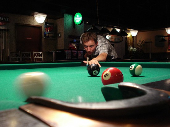 Create your own in home pool hall for Create your own pool