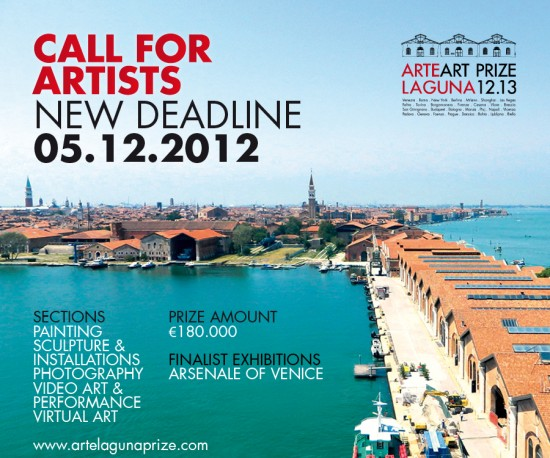 venice eng 550x458 Deadline Postponed For The 7th Arte Laguna Prize